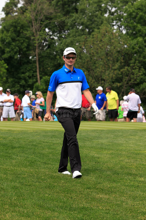 Justin Rose au mémorial photo stock