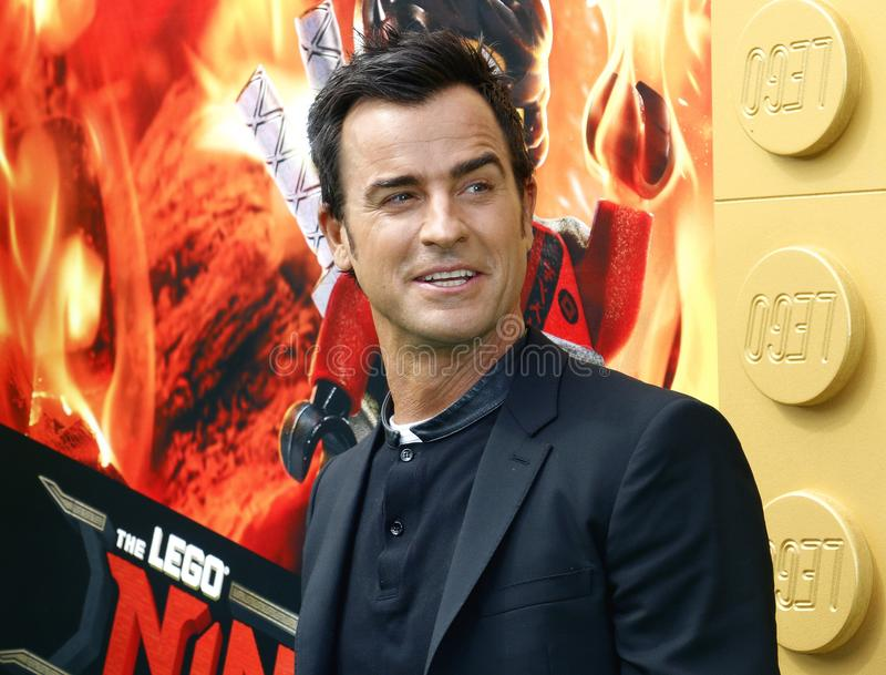 Justin Theroux image stock