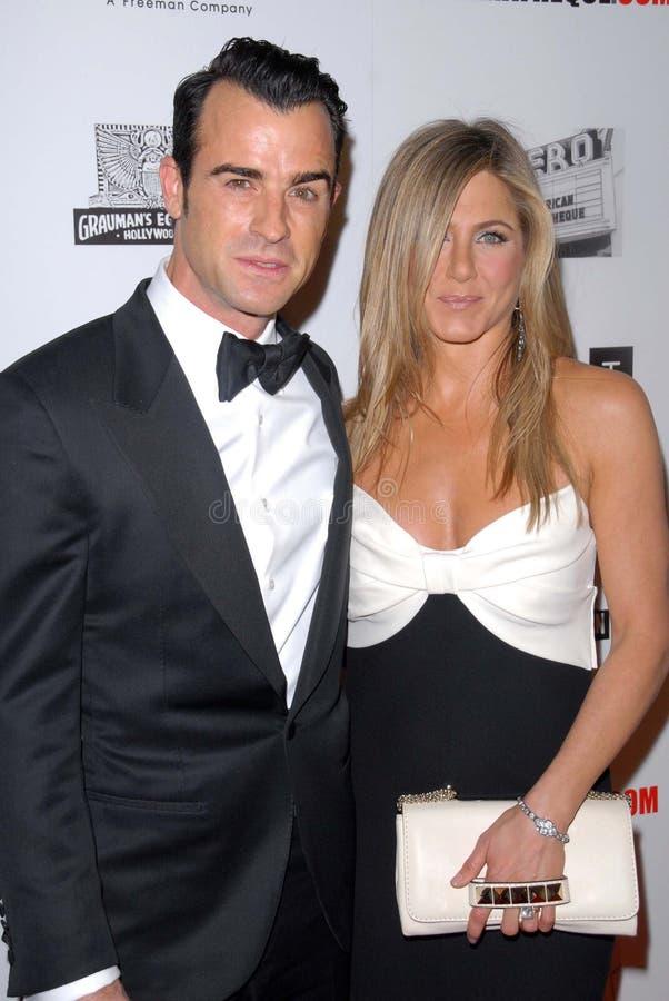 Jennifer Aniston, Ben Stiller imagens de stock royalty free