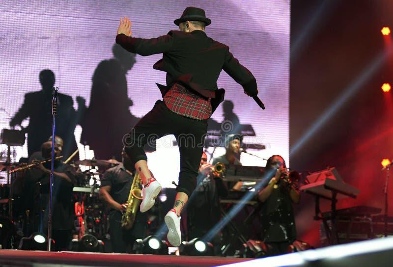 Justin Timberlake stock afbeelding