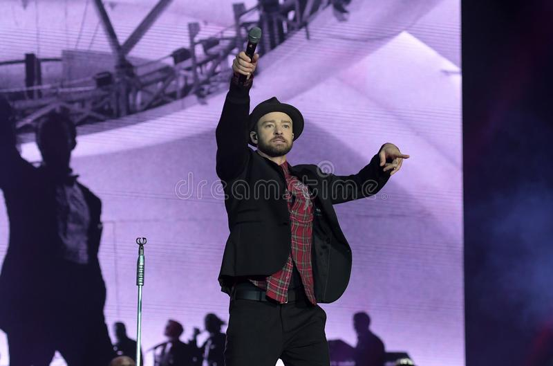 Justin Timberlake photo stock