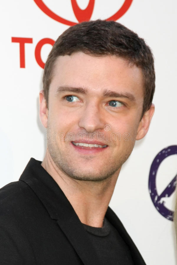 Justin Timberlake fotografia stock libera da diritti