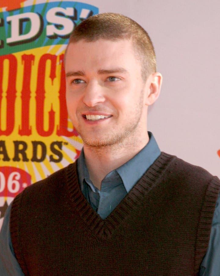 Justin Timberlake photographie stock libre de droits