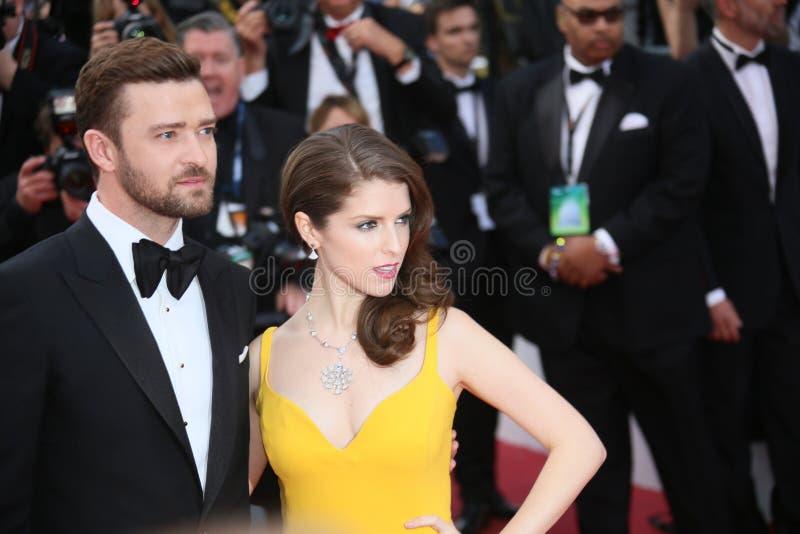 Justin Timberlake, Anna Kendrick photographie stock