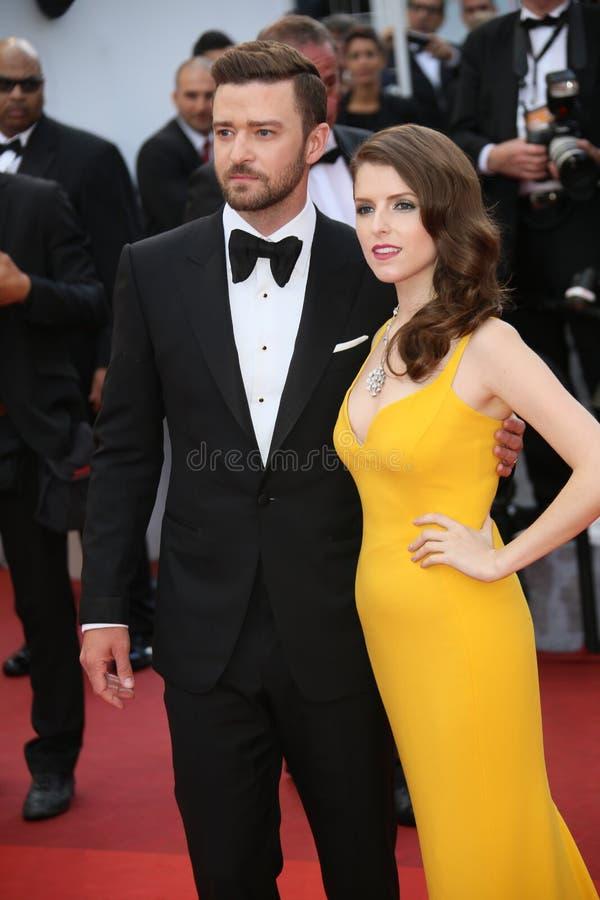 Justin Timberlake, Anna Kendrick image libre de droits