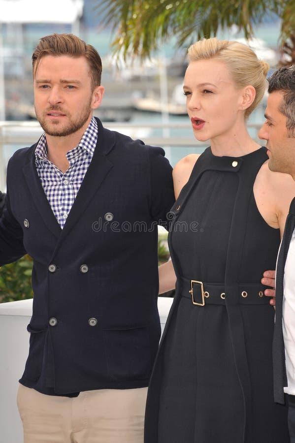 Justin Timberlake & Carey Mulligan obraz stock