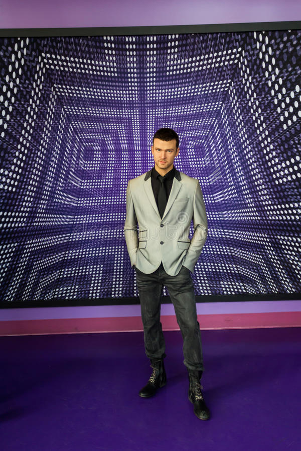 Justin Timberlake diagram arkivfoton