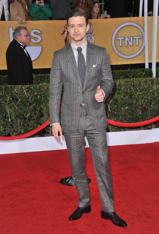 Justin Timberlake foto de archivo libre de regalías