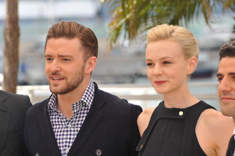 Justin Timberlake et Carey Mulligan photos stock