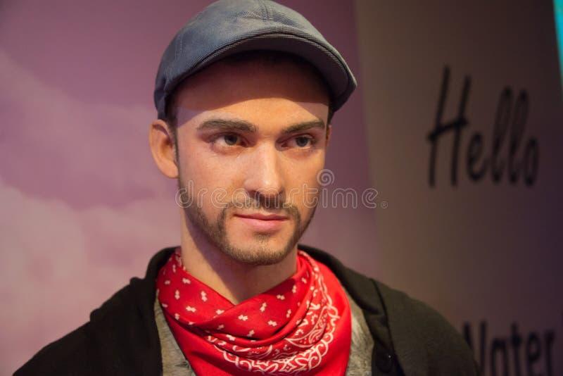 Justin Timberlake nel museo di signora Tussauds fotografie stock