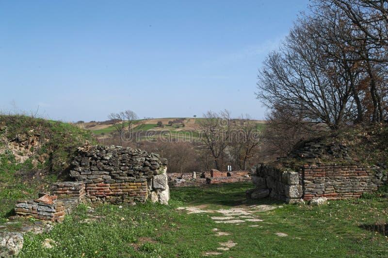 Justiniana Prima, città entrante fotografia stock