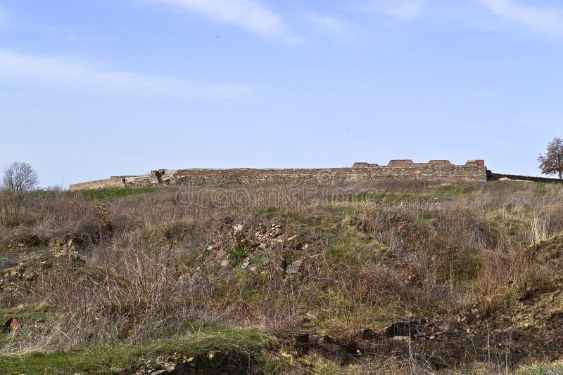 Justiniana Prima, Romański Bizantyjski miasto forteca zdjęcie stock