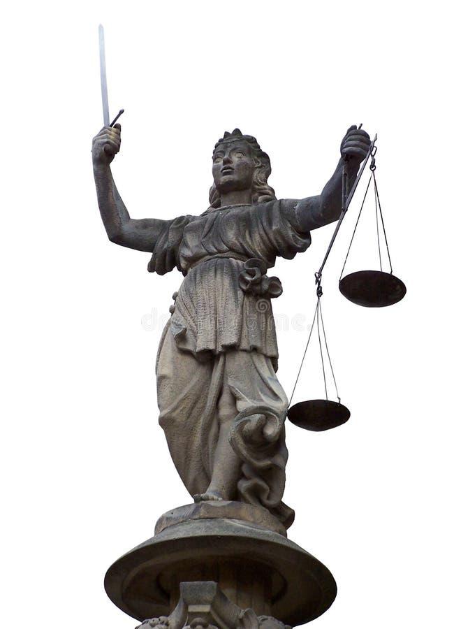 justitia стоковое фото rf