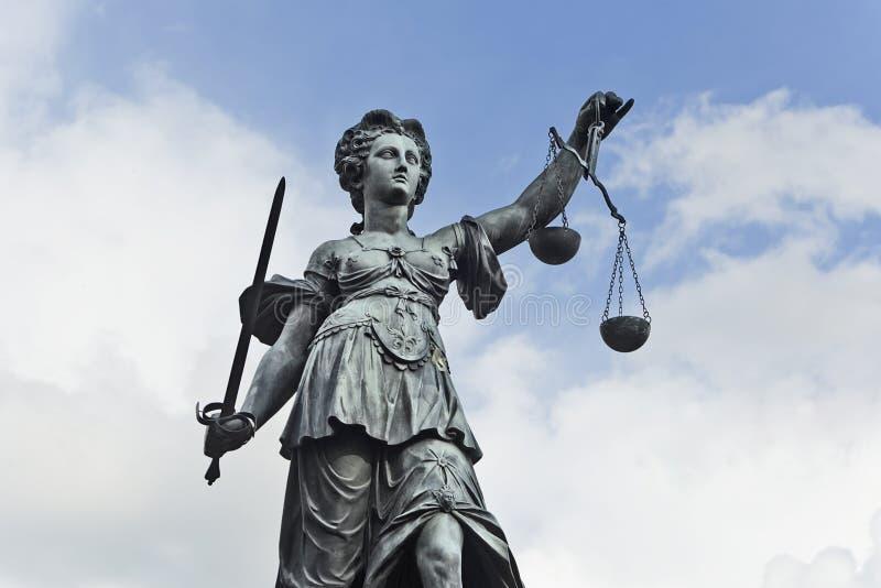 Justizia foto de archivo libre de regalías