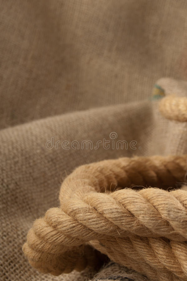 Download Jute cordage stock photo. Image of stretch, bound, fiber - 24752170
