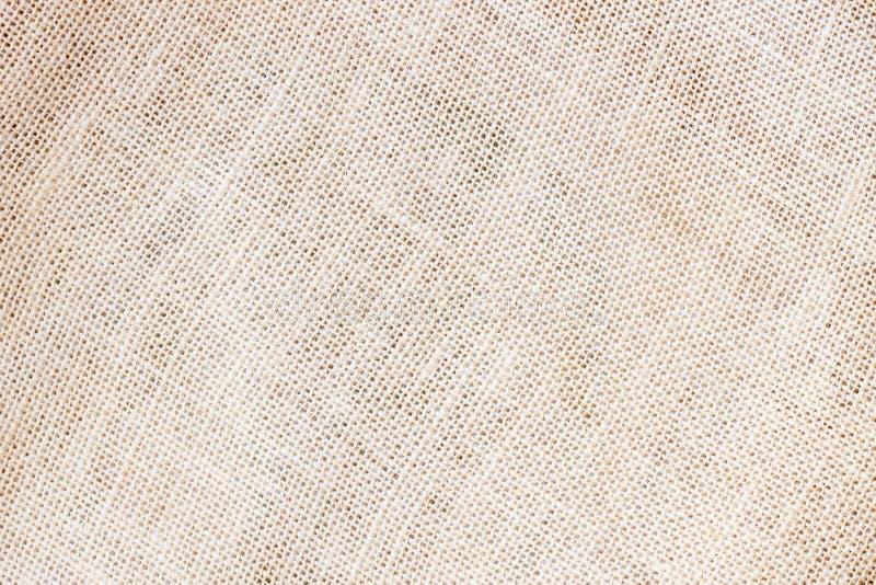 Jute of natuurlijke organische juteachtergrond met de zichtbare ruimte van het textuurexemplaar voor tekst en ander ontwerp van d stock fotografie