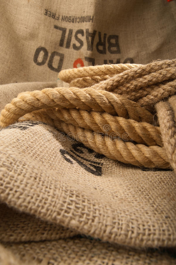 Download Jute rope stock image. Image of materials, pattern, sack - 22901383