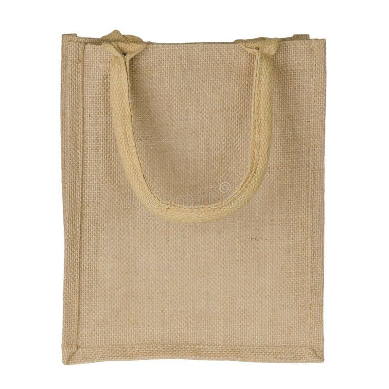 Jute Tote Bag stock foto
