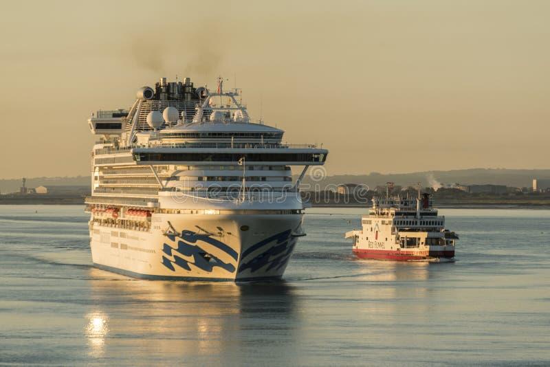 Jutrzenkowi przyjazdy w Southampton zdjęcia royalty free