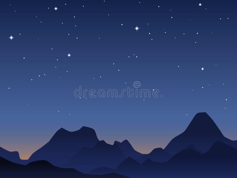 Jutrzenkowy nieba tło ilustracji