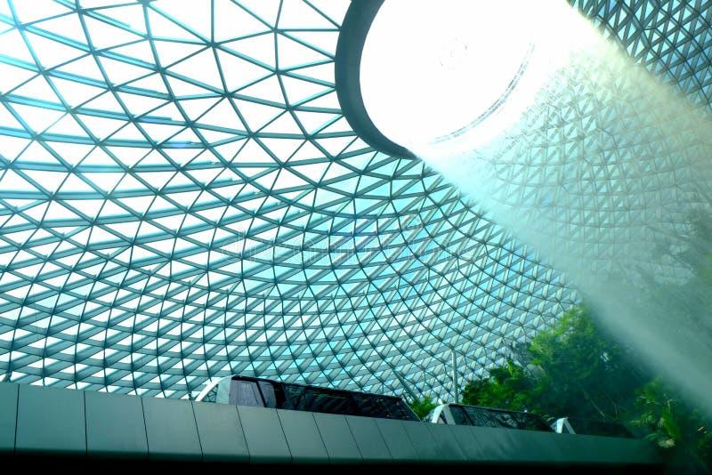 Juvel på Changi springbrunn 5 arkivbilder