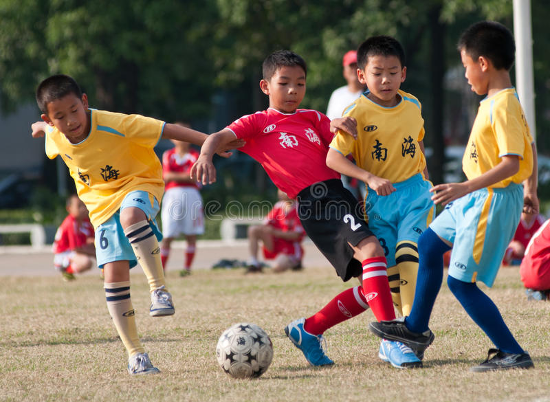 Download Juvenile football editorial stock photo. Image of defensive - 35556193