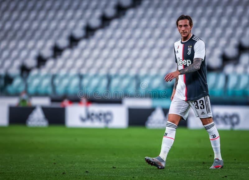 Turin, Italy, July 11 2020: Juventus VS Atalanta