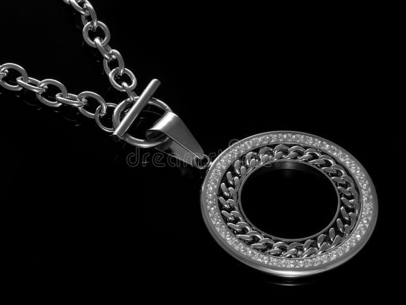 Juwel - Luxushalskette für Frauen lizenzfreie stockfotos