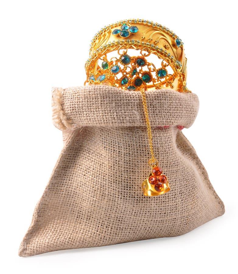 Juwelbeutel stockbilder