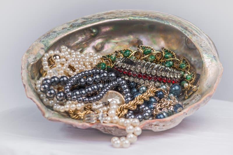 Juwelen in Abalone stock fotografie