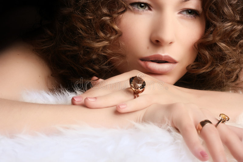 Juwelen en Schoonheid royalty-vrije stock afbeeldingen