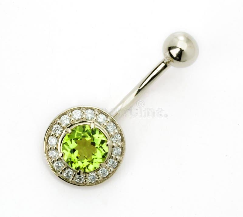 Juwelen voor het doordringen royalty-vrije stock foto