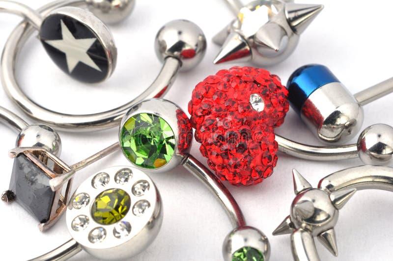 Juwelen voor het doordringen stock fotografie