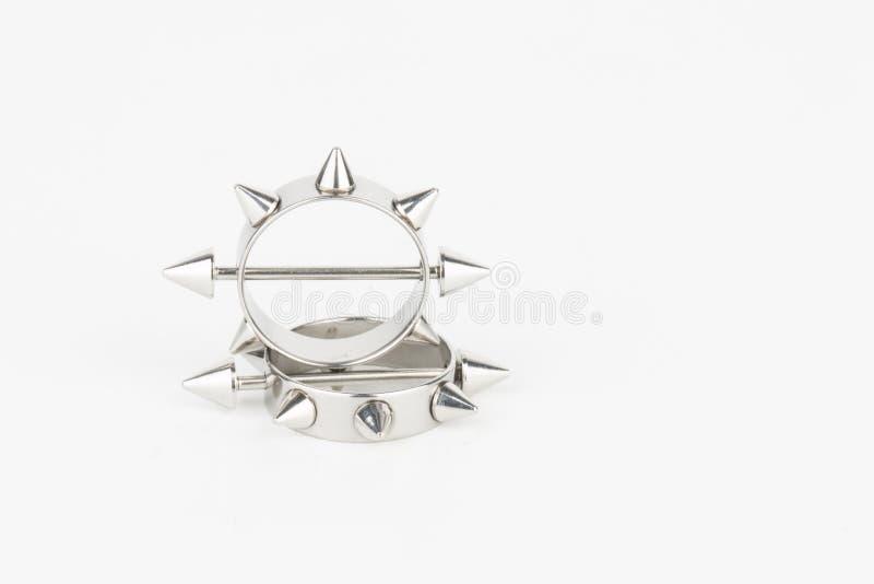 Juwelen voor het doordringen stock afbeelding
