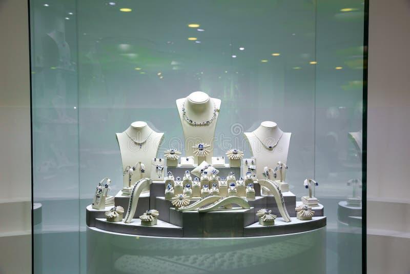 Juwelenexebition, inzameling van de schatten van Ceylon royalty-vrije stock afbeelding