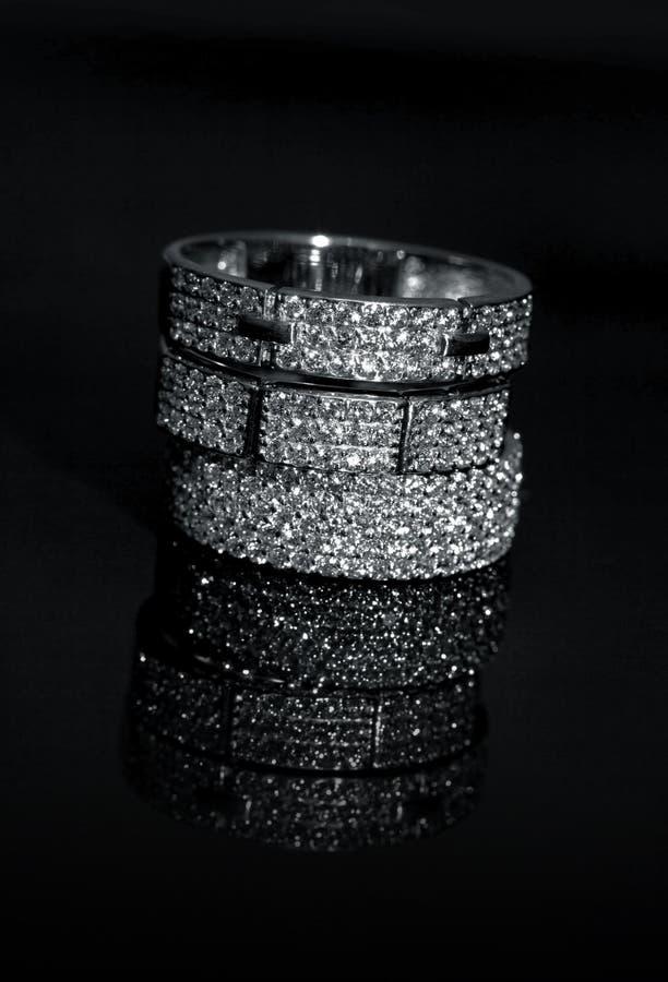 Juwelenringen stock afbeeldingen