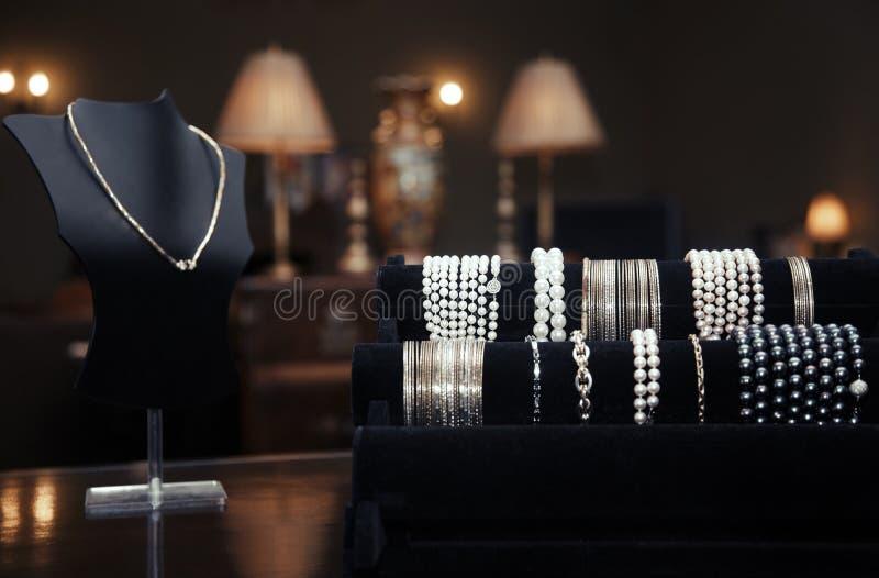 Juweliergeschäft stockbilder