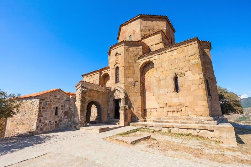 Jvari修道院,姆茨赫塔 免版税库存图片