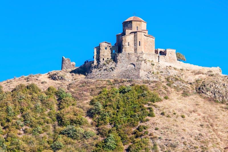 Jvari修道院,姆茨赫塔 库存图片