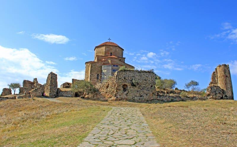 Jvari церков известное Стоковое Изображение