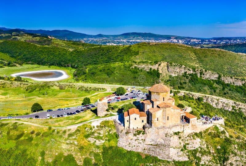 Jvari monaster w Mtskheta, Gruzja fotografia royalty free
