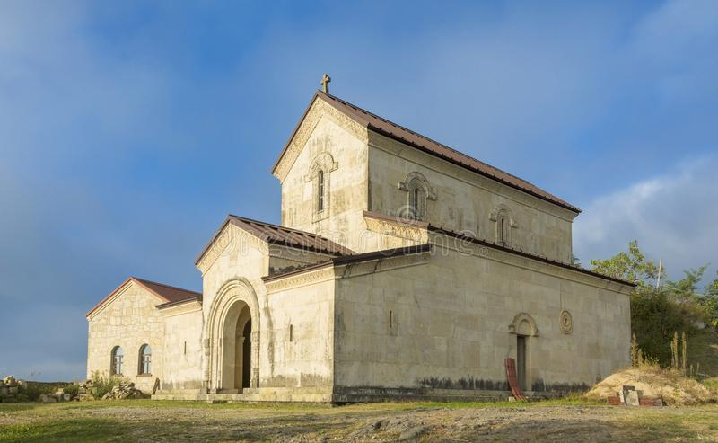 Jvartamagleba Monastery in Adjara, Georgia royalty free stock image