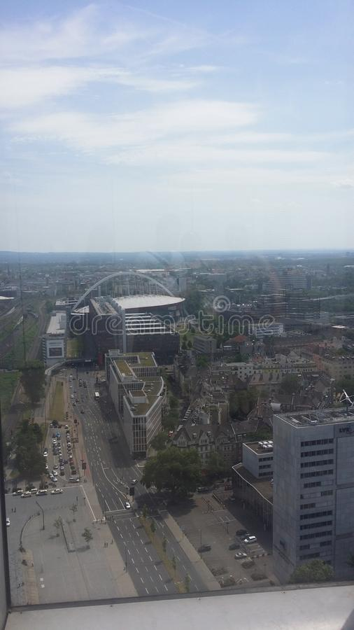 Köln高大市的塔 图库摄影