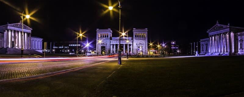 Königsplatz, Square国王在慕尼黑 免版税库存照片