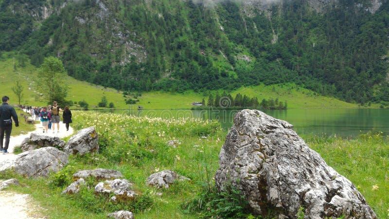 Königssee in Austria immagini stock