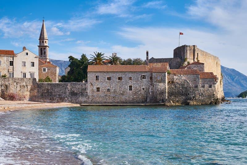 Küsten-Montenegro lizenzfreie stockbilder