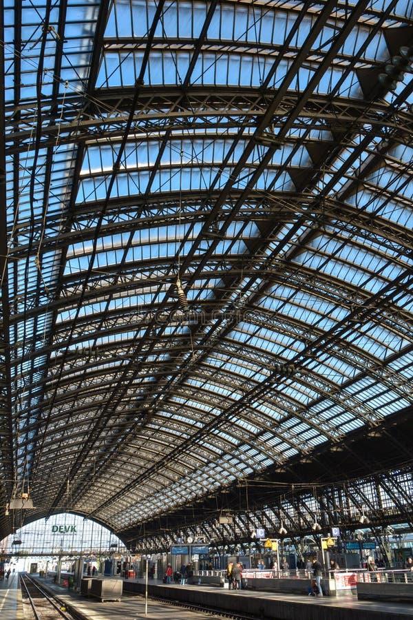 Köln Hauptbahnhof (4), Köln, Deutschland stockbild