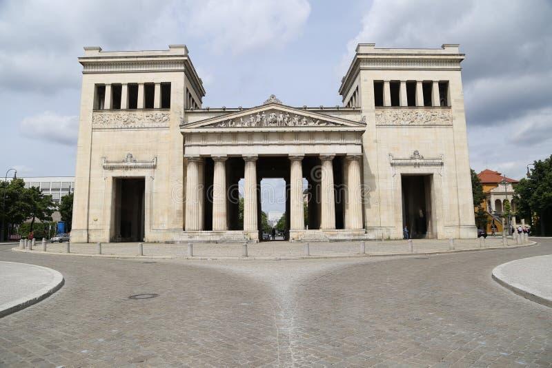 Königsplatz, Munich foto de archivo libre de regalías