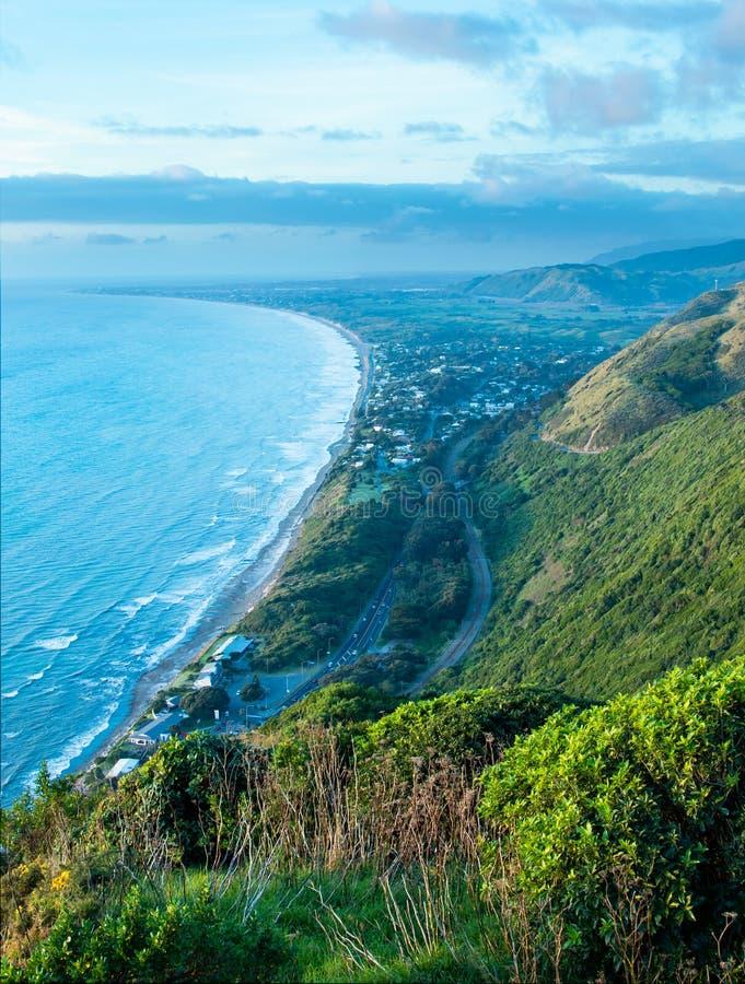 Download Kāpiti Coast stock photo. Image of kapiti, road, beach - 116863388