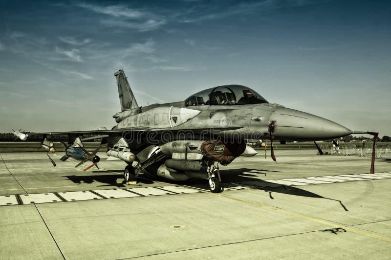Kämpfender Falke F-16 stockfoto